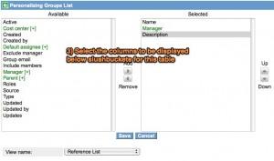 Slushbucket Personalize List View