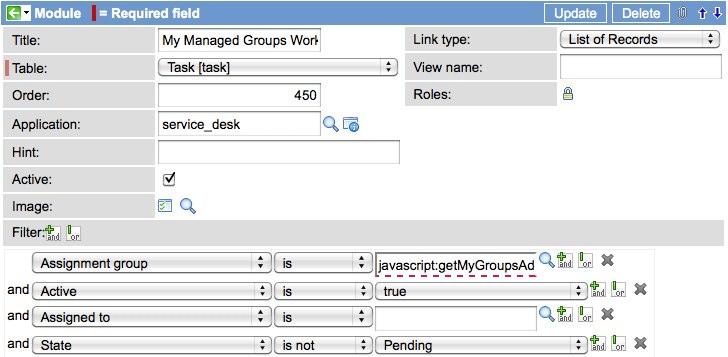 Advanced 'getMyGroups' Function - ServiceNow Guru