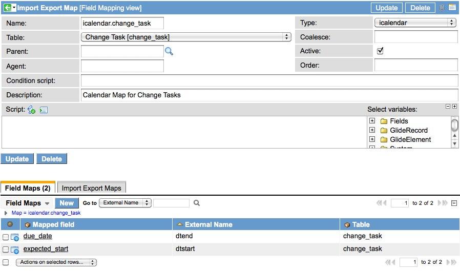 Sending iCalendar Invites from any Task table - ServiceNow Guru