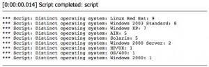Distinct Servers By OS Script
