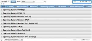 Distinct OS Server Grouping