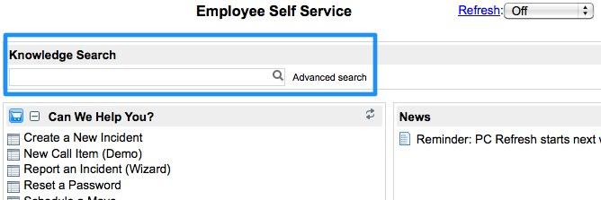 Creating a Knowledge Search Homepage Widget - ServiceNow Guru