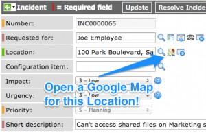 Location Google Map UI Macro