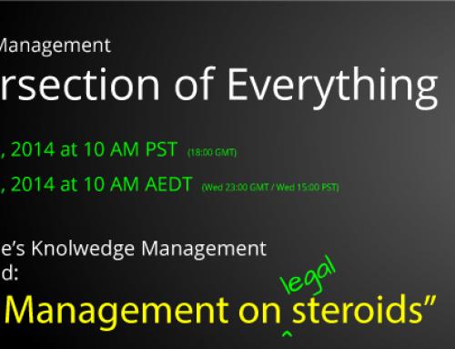 Knowledge Management Webinar