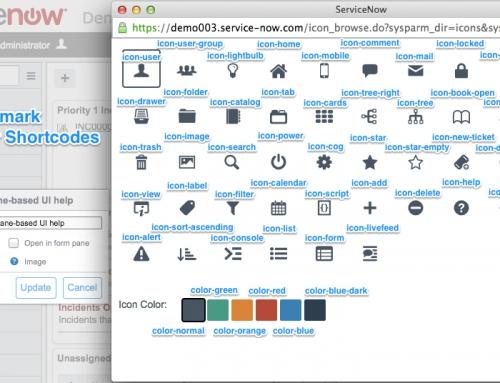 Modifying UI14 Bookmark Appearance and Behavior