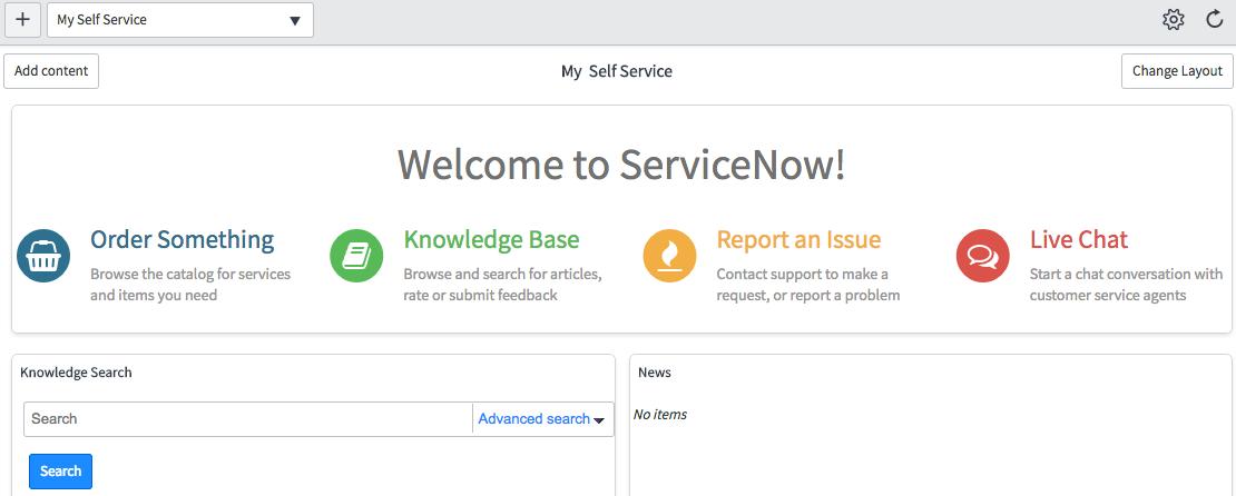 Service Portal-style Homepage Widgets - ServiceNow Guru